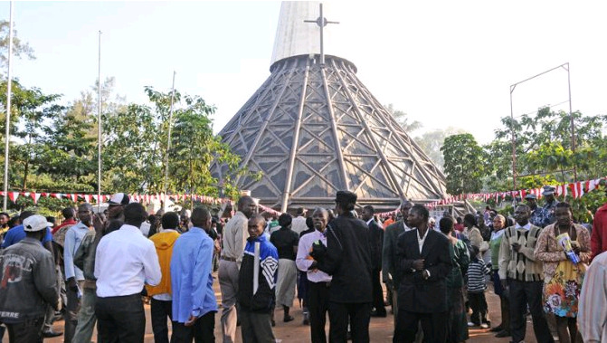 Police Orders Pilgrims Not To Go To Namugongo Martyrs Shrine Due To COVID-19