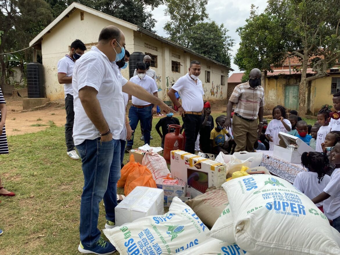Indian Community, Absa Donate COVID-19 Relief Food To People In Butabika