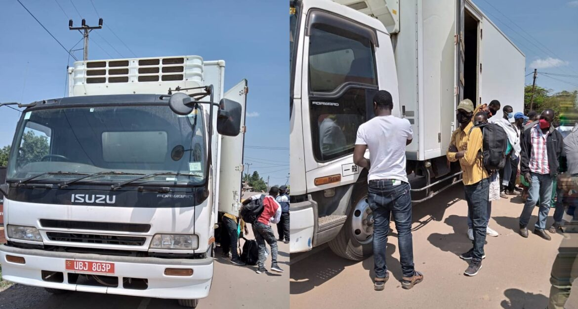Police Arrest Truck Driver Smuggling 14 Passengers To Mbarara District