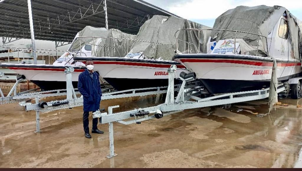 Gov't Procures Water Ambulances To Enhance Response To Water Disasters