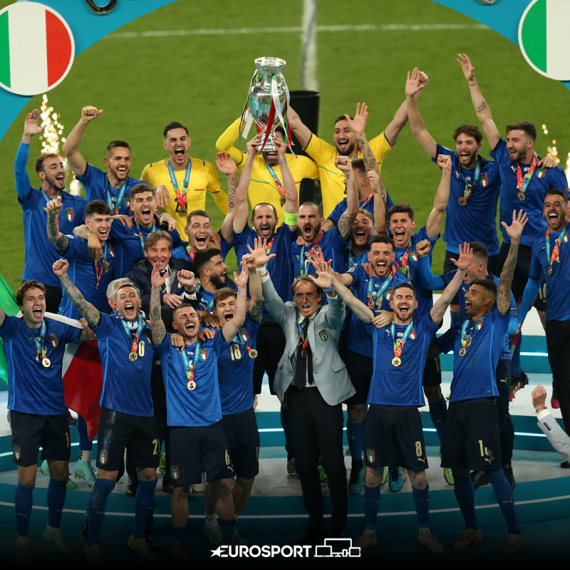 Italy Crowned European Champions After Beating England In Penalties