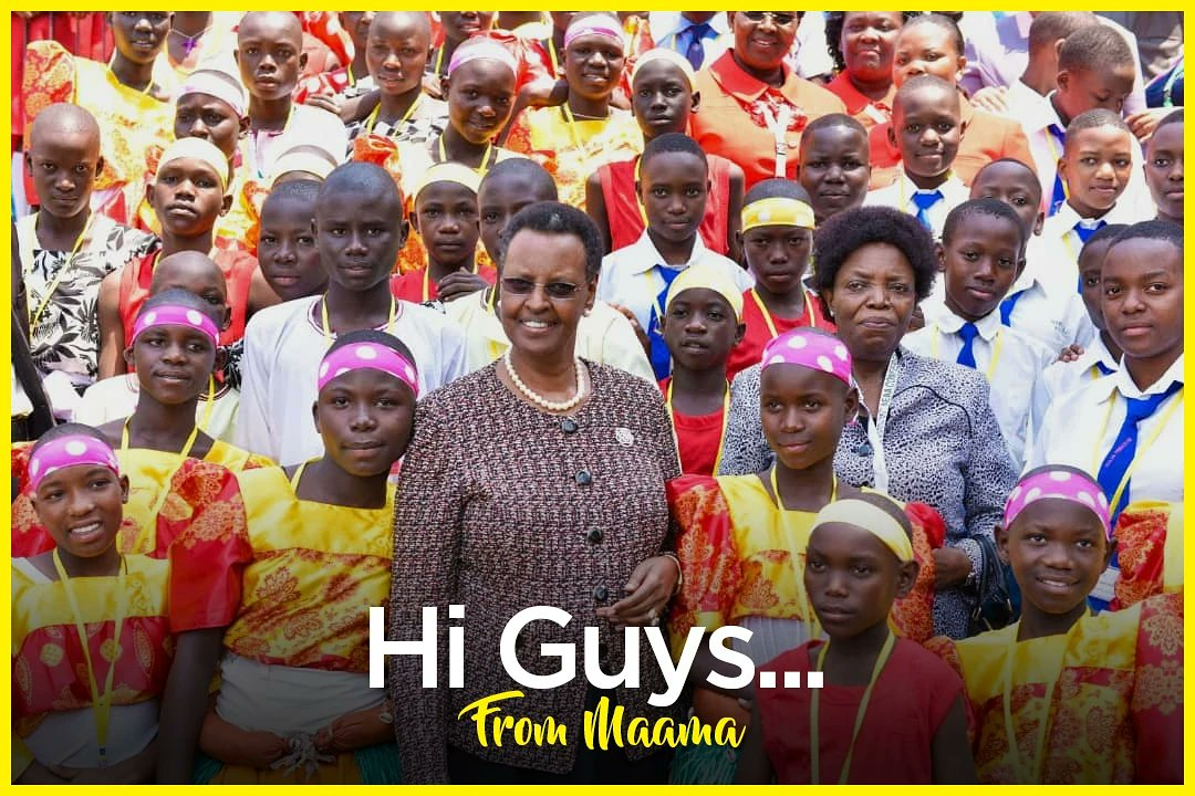 Mama Janet Museveni Advises 'Guys' Not To Copy Bad Habits From Parents