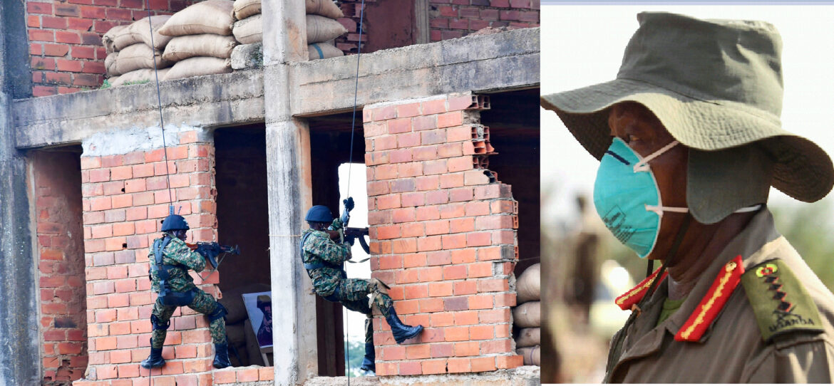 UPDF  Is Ready To Win Any War- Gen. Museveni Says As He Passes Out Anti-terrorism Commandos