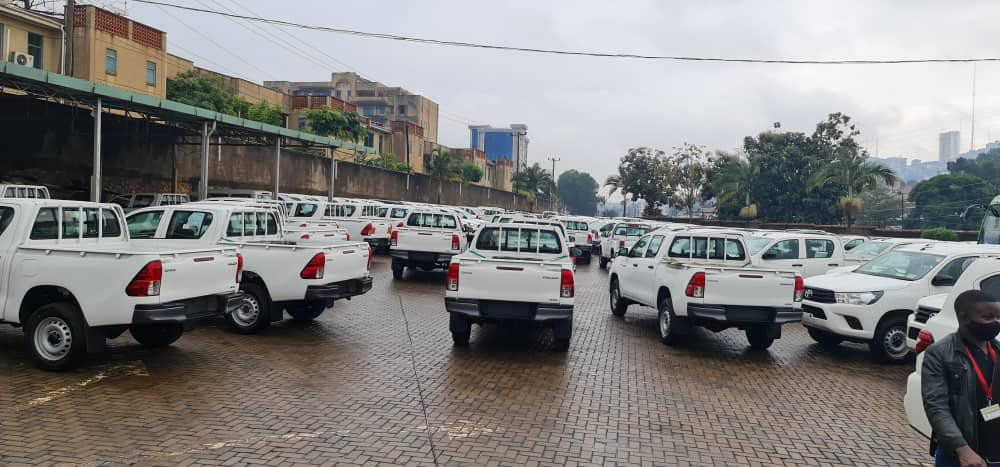 Ministry Of Health Seeks Shs9Bn To Clear Taxes For Newly Purchased COVID-19 Pick- Ups