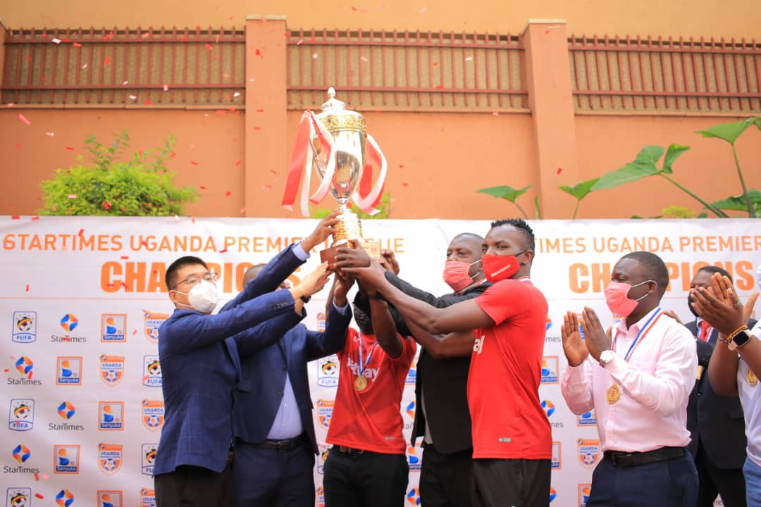 Express FC Awarded  Trophy At  Scientific  Crowning Ceremony