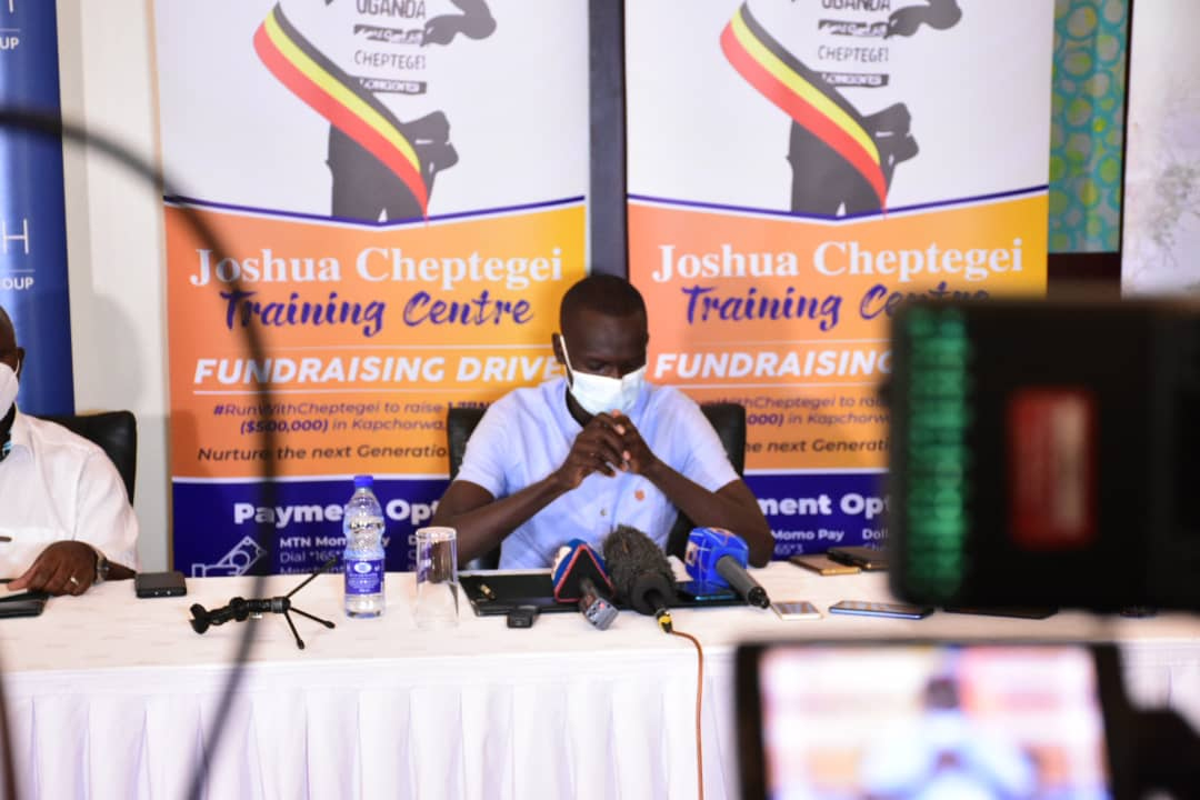 """Cheptegei Launches """"Run With Cheptegei"""" Campaign To Raise UGX 1.7bn To Complete The Athlete Training Center"""