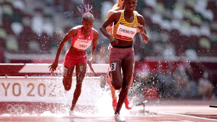 Uganda's Peruth Chemutai Finishes Second To Qualify For 3000m Steeplechase Finals