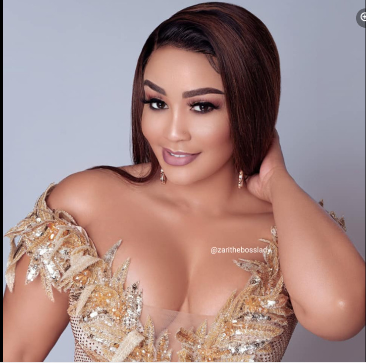 Ageing Gracefully: Zari Hassan Flaunts Juicy Cleavage As She  Celebrates 41st Birthday