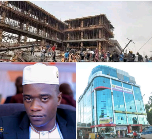Tycoon Ham's Brother Ssentongo In Hiding Over Collapsed Building
