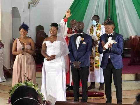 Kabuura and Wife Flavia Steal The Show At Khamadi's Wedding