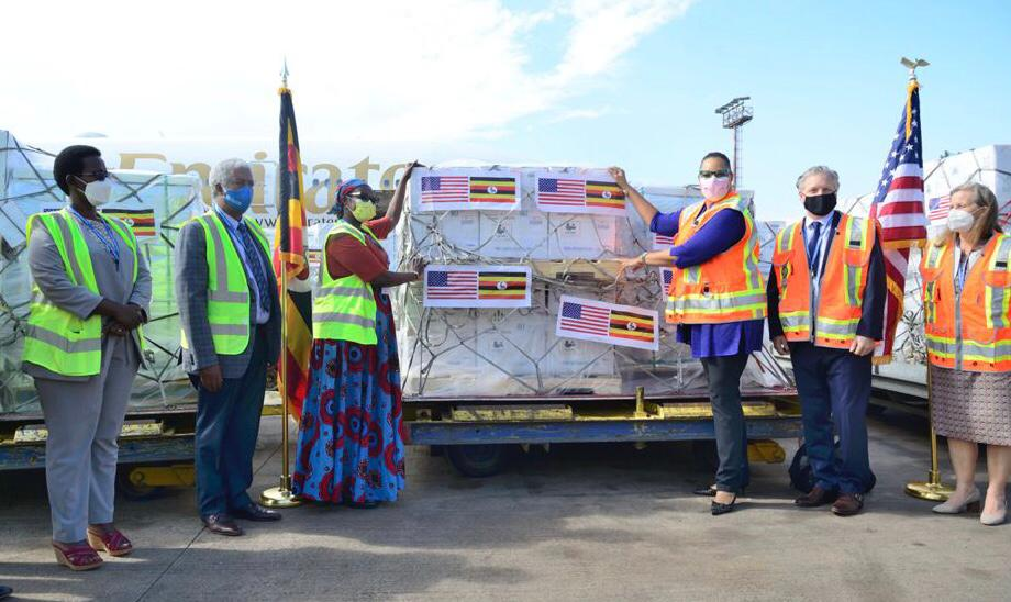 Uganda Receives Donation Of 1,674,260 Doses Of Pfizer COVID-19 Vaccine From USA