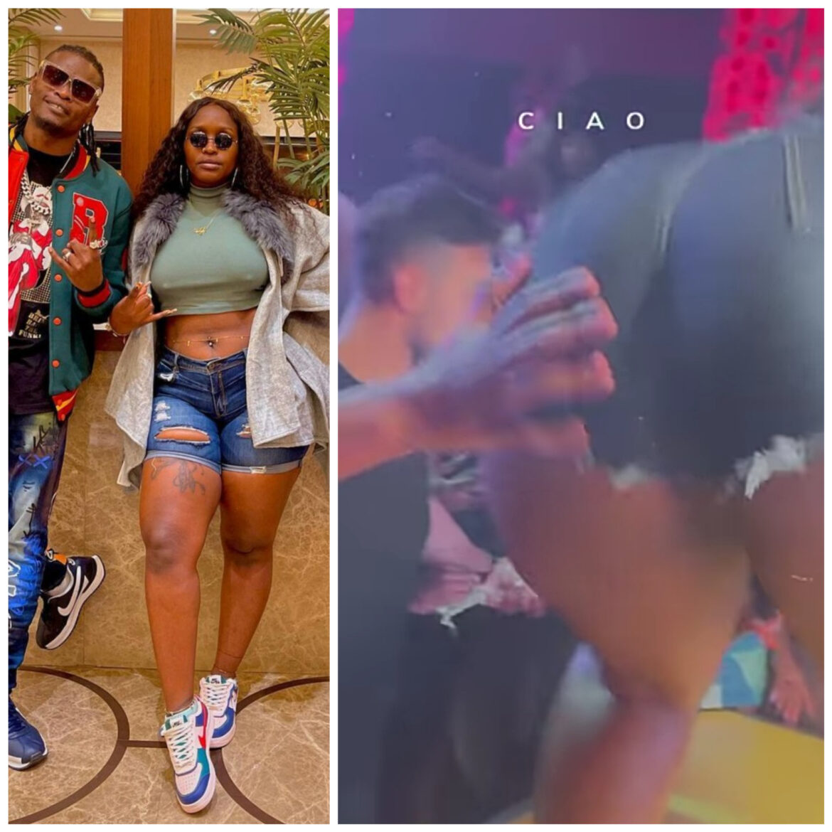 Fans Spank Nwagi's Booty As She Performs In Turkey