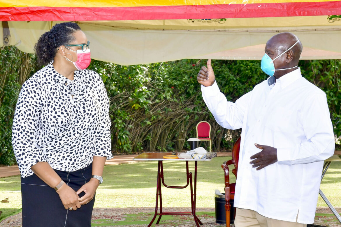 President Museveni Receives Independence Message From Biden